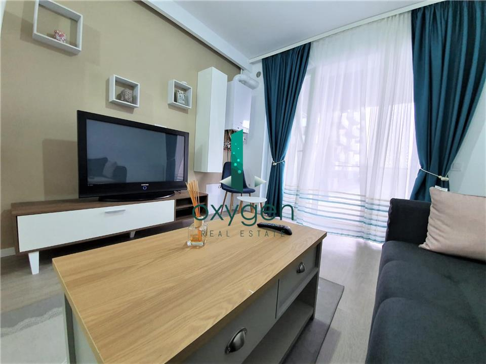 NOU! Apartament Grand Park Soporului, zona Iulius Mall, Terasa 16 mp