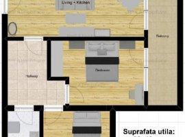 Apartament 3 camere, etaj 3, 2 bai, Buna Ziua