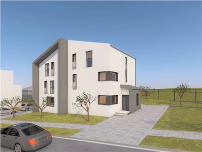 Casa NOUA cu teren de 360 mp, zona Rezidentiala - cartier Europa