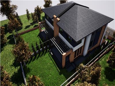 Casa NOUA cu teren de 375 mp, zona Rezidentiala - cartier Buna  Ziua
