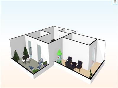 Penthouse 61 mp + 2 TERASE si 1 GARAJ SUBTERAN-  BLOC NOU