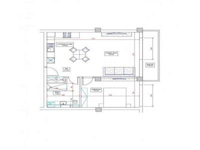 Apartament 2 camere, semidecomandat, semifinisat, zona Semicentrala