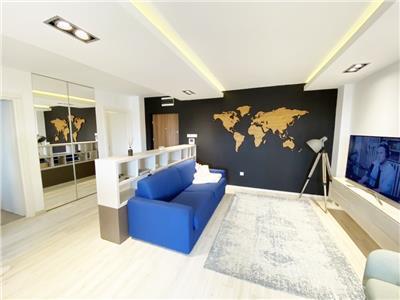 Apartament LUX cu 2 camere, bloc Nou, parcare subterana, Intre Lacuri