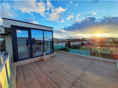 Penthouse cu terasa de 33 mp in zona The Office! Parcare subterana!