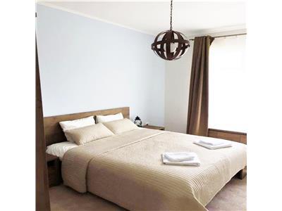 Apartament LUX 2 camere si GARAJ in bloc NOU, Terasa 26 mp, Buna Ziua