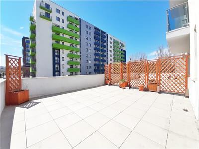 Apartament LUX 3 camere cu Parcare si Terasa de 60mp, cartier Sopor