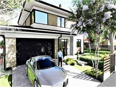 Casa aparte cu 5 camere intr-o zona exclusiva, garaj, langa Wonderland