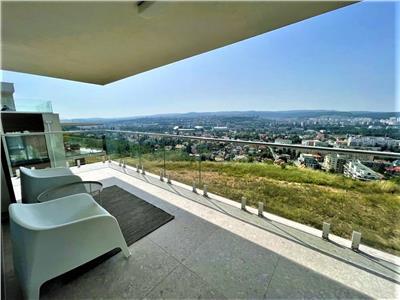 Penthouse Exclusivist cu vedere panoramica deasupra Clujului