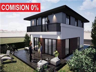 Casa individuala cu panorama superba si teren drept de 500 mp, Popesti
