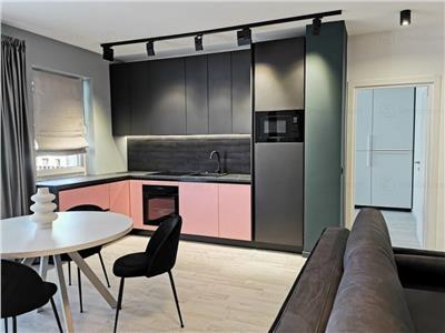 Apartament LUX cu 2 camere, cu parcare subterana, zona The Office