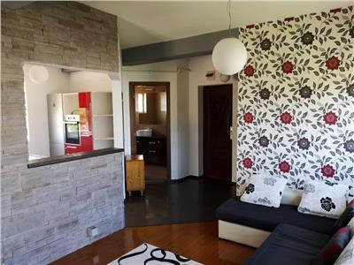 3 camere, modern, terasa 36 mp, mobilat si utilat complet,Aurel Vlaicu