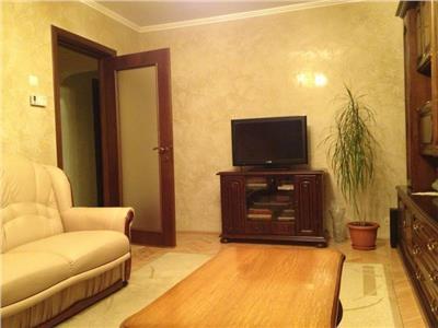 Apartament cu 3 camere mobilat si utilat, etajul 2 cu garaj, Marasti