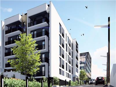 Apartament semifinisat cu 2 camere in Buna Ziua, bloc NOU- 2019,
