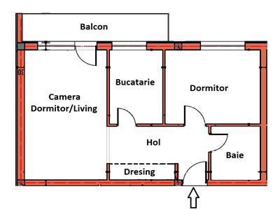 2 camere decomandate cu incalzire in pardoseala si PARCARE, TVA inclus