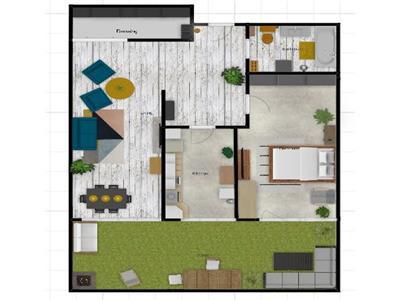 2 camere decomandate, 59 mp plus gradina gradina, CF iesit, Floresti