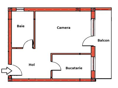 Apartament cu Terasa, Gradina 80 mp si Parcare, zona Leroy, TVA inclus