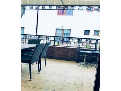 Apartament cu terasa, la parter inalt in Buna Ziua, parcare inclusa!