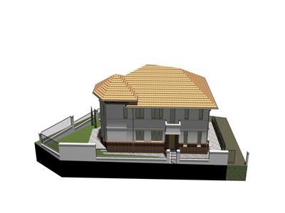 Casa noua de vanzare,cu 248 mp de teren, Borhanci