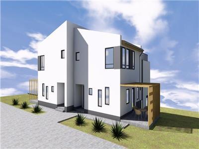 Casa FINISATA tip duplex in Borhanci, cu incalzire in pardoseala