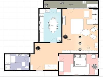 Apartament cu 2 camere decomandate, 52 mp, et. intermediar, cu PARCARE