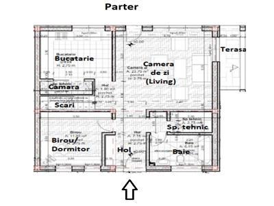 Casa NOUA semifinisata cu 350 mp de teren, cartierul Tineretului