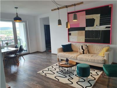 Apartament LUX cu Parcare in Marasti, Panorama superba!